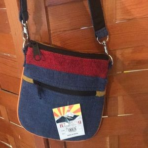 NWT Cross body purse from Nepal
